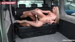 LETSDOEIT - Lady Wants Drivers Cock To Keep Her Warm Thumb