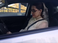 Modest Bride Masturbates in Public Parking Lot Thumb